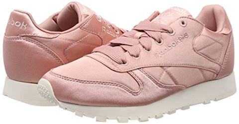 Reebok Classic  CLASSIC LEATHER SATIN  women's Shoes (Trainers) in Pink Image 5