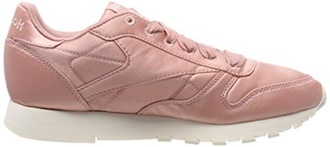 Reebok Classic  CLASSIC LEATHER SATIN  women's Shoes (Trainers) in Pink Image 6