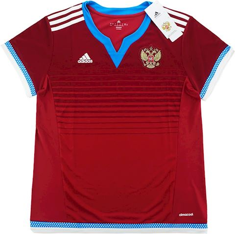 adidas Russia Womens SS Home Shirt 2015 Image