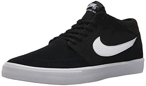 Nike SB Solarsoft Portmore II Mid Men's Skateboarding Shoe - Black Image