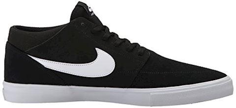 Nike SB Solarsoft Portmore II Mid Men's Skateboarding Shoe - Black Image 7