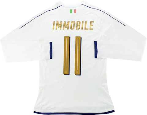 Puma Italy Mens LS Player Issue Away Shirt 2016 Image 3