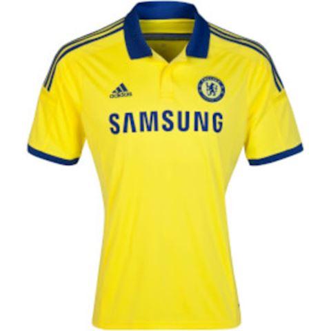 adidas Chelsea Mens SS Away Shirt 2014/15 Image 2