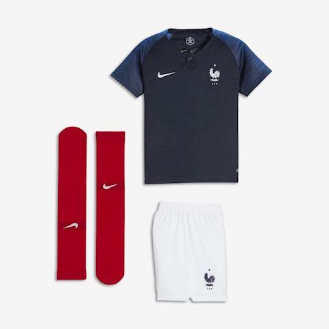 Nike France Kids SS Home Mini Kit 2018