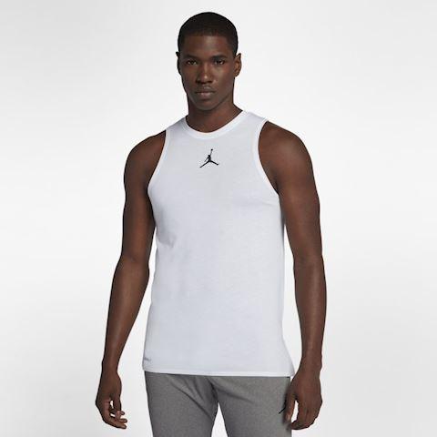 8cdf6b384 Nike Jordan 23 Alpha Men's Sleeveless Training Top - White | 892071 ...