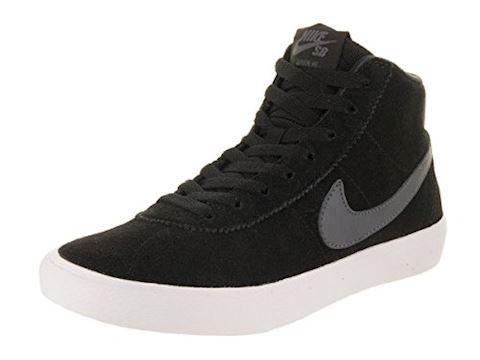Nike SB Bruin High Women's Skateboarding Shoe - Black Image 2