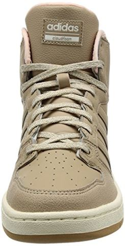 adidas Cloudfoam Hoops Winter Mid Shoes Image 4