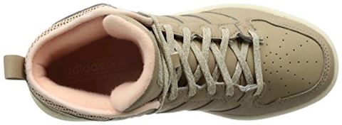 adidas Cloudfoam Hoops Winter Mid Shoes Image 7