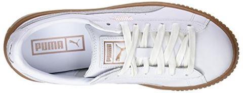 Puma Basket Platform Euphoria Gum Image 7