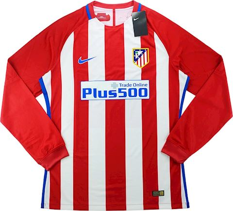 Nike Atlético Madrid Mens LS Player Issue Home European Shirt 2016/17 Image