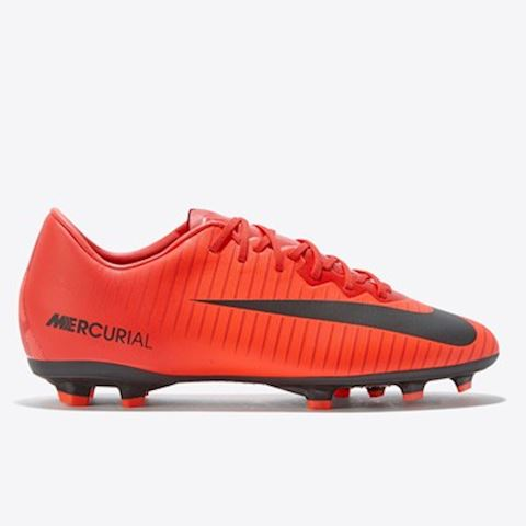 Nike Jr. Mercurial Vapor XI Younger/Older Kids'Firm-Ground Football Boot - Red Image