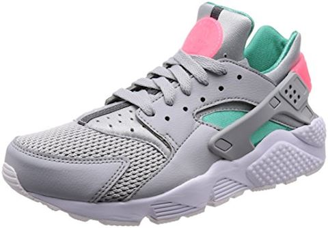 well known special section hot sale online Nike Air Huarache Run 'Miami' Wolf Grey, Green & Platinum