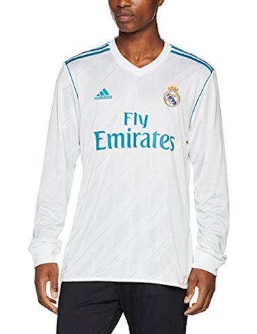 adidas Real Madrid Mens LS Home Shirt 2017/18 Image