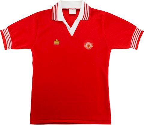 Manchester United Mens SS Home Shirt 1975/76 Image