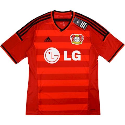 adidas Bayer Leverkusen Mens SS Player Issue Home Shirt 2014/15 Image