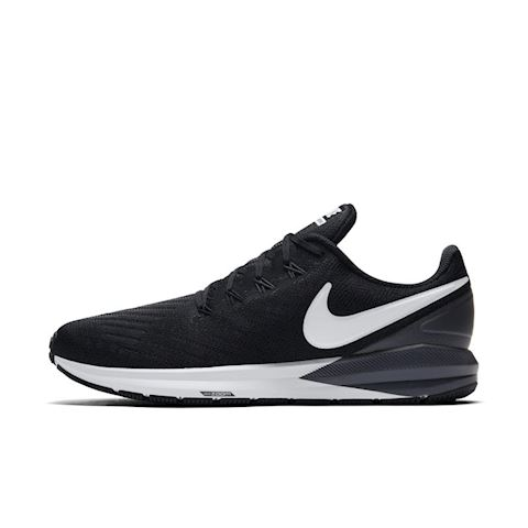 Nike Air Zoom Structure 22 Men's Running Shoe - Black Image