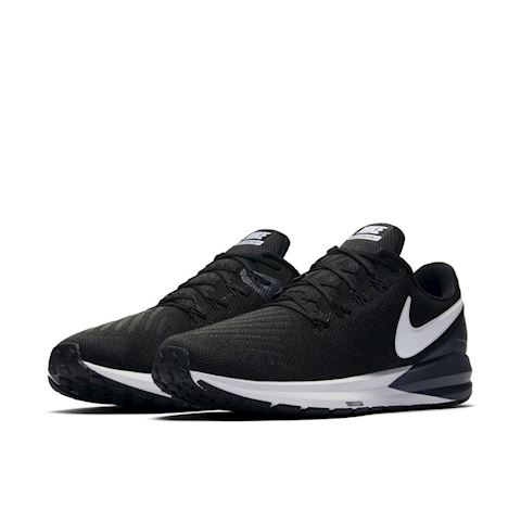 Nike Air Zoom Structure 22 Men's Running Shoe - Black Image 2