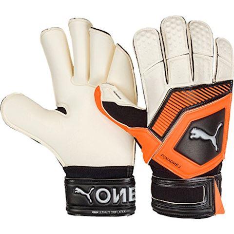 PUMA Goalkeeper Gloves One Grip 1 GC Uprising Pack - PUMA White/Shocking Orange/PUMA Black Image