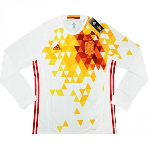 adidas Spain Mens LS Player Issue Away Shirt 2016 Image
