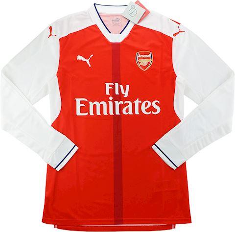 Puma Arsenal Mens LS Player Issue Home Shirt 2016/17 Image