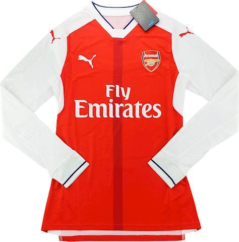 Puma Arsenal Mens LS Player Issue Home Shirt 2016/17 Image 2