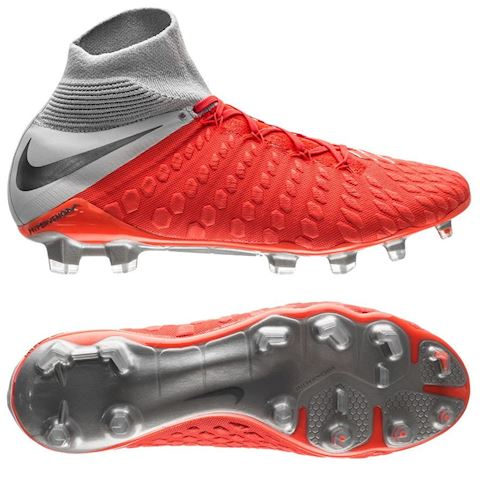low priced ac2e4 39f30 Nike Hypervenom III Elite Dynamic Fit Firm-Ground Football Boot - Red