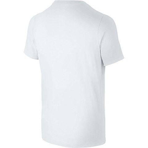 Nike Just Do It Swoosh Older Kids'(Boys') T-Shirt - White Image 2