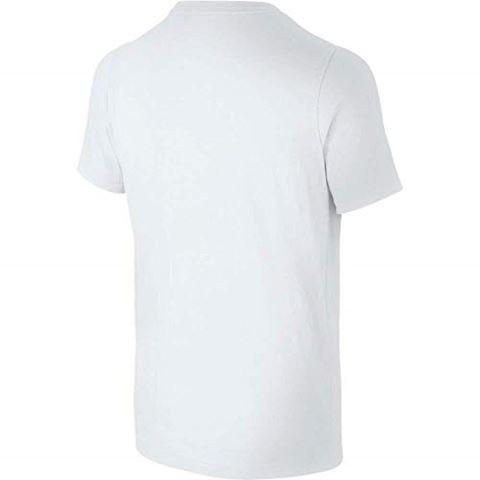 Nike Just Do It Swoosh Older Kids'(Boys') T-Shirt - White Image 4
