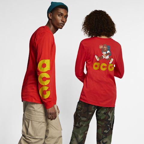 fac83f08 Nike Sportswear ACG Long-Sleeve T-Shirt - Red | AQ3953-634 | FOOTY.COM
