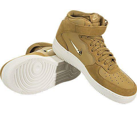 Nike Air Force 1 07 Mid LV8 Men's Shoe - Brown Image 3