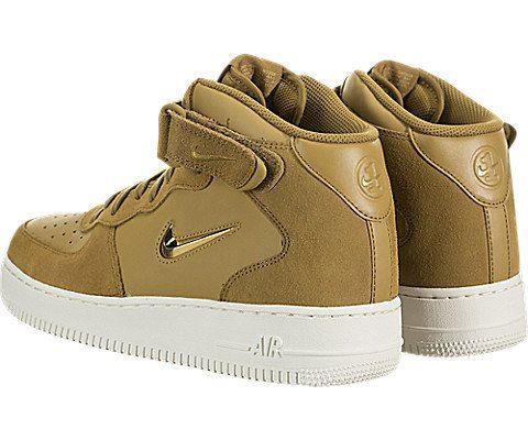 Nike Air Force 1 07 Mid LV8 Men's Shoe - Brown Image 4