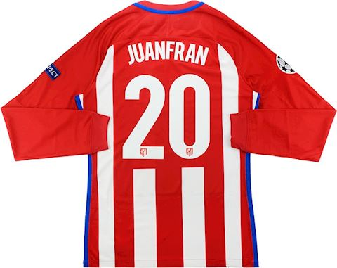 Nike Atlético Madrid Mens LS Player Issue Home Champions League Shirt 2016/17 Image 2