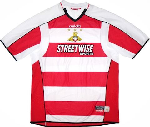 Doncaster Rovers Mens SS Home Shirt 2005/06 Image