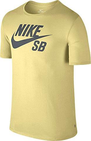 Nike SB Logo Men's T-Shirt - Yellow Image