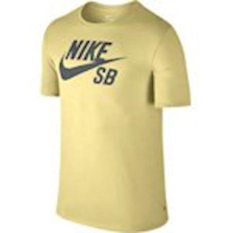 Nike SB Logo Men's T-Shirt - Yellow Image 2