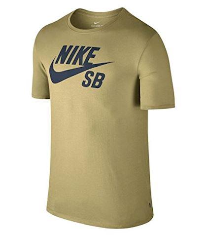 Nike SB Logo Men's T-Shirt - Yellow Image 3