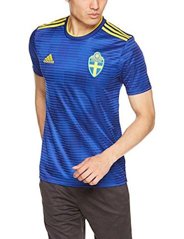 adidas Sweden Mens SS Away Shirt 2018 Image
