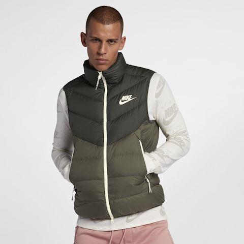 Nike Sportswear Windrunner Down Fill Men's Gilet - Olive Image