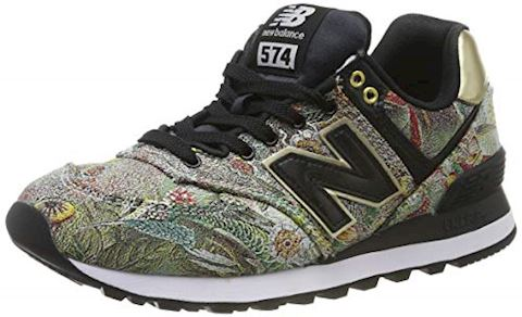 buy popular 5536f e515d New Balance 574 Sweet Nectar/ Black/ Classic Gold