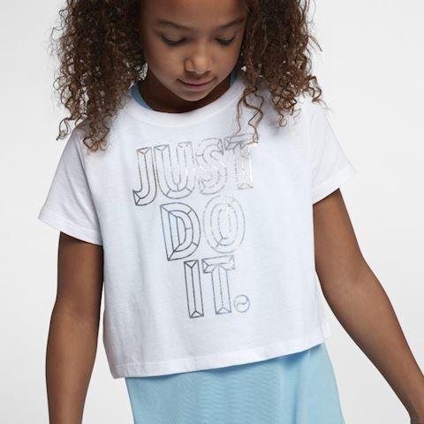 dbe979f4ab Nike Sportswear Older Kids' (Girls') JDI Cropped T-Shirt - White ...