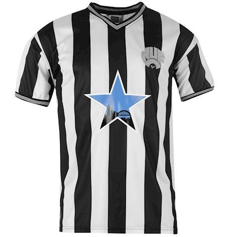 Score Draw Newcastle United Mens SS Home Shirt 1984/85 Image