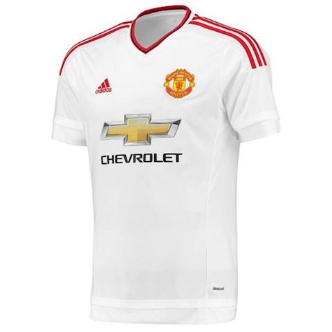 adidas Manchester United Mens SS Player Issue Away Shirt 2015/16 Image