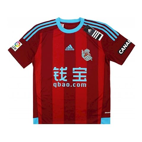 adidas Real Sociedad Kids SS Away Shirt 2015/16 Image