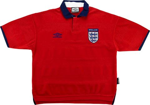 Umbro England Kids SS Away Shirt 1999 Image
