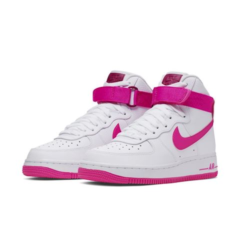 the best attitude d4c2f 9ef25 Nike Air Force 1 High 08 LE Women s Shoe - White Image 2