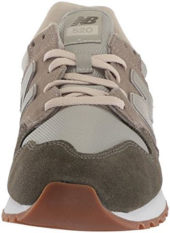 New Balance  WL520  women's Shoes (Trainers) in Green Image 4