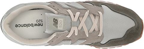 New Balance  WL520  women's Shoes (Trainers) in Green Image 7