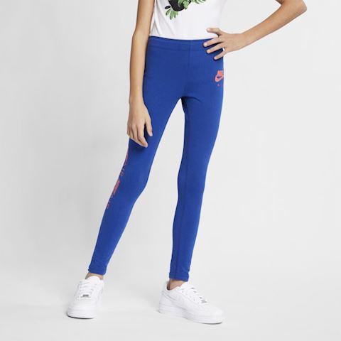 Nike Air Older Kids' (Girls') Leggings - Blue Image 3