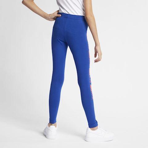 Nike Air Older Kids' (Girls') Leggings - Blue Image 4