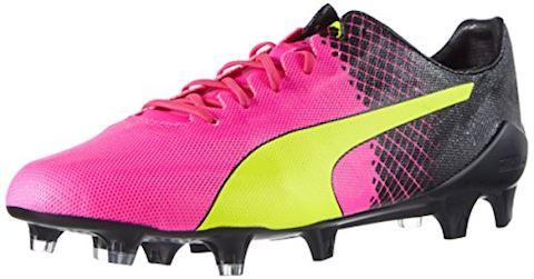 Puma evoSPEED II SL Tricks FG Pink Glo Safety Yellow Black Image